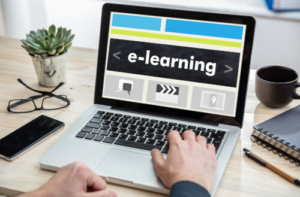 e Learning am Laptop